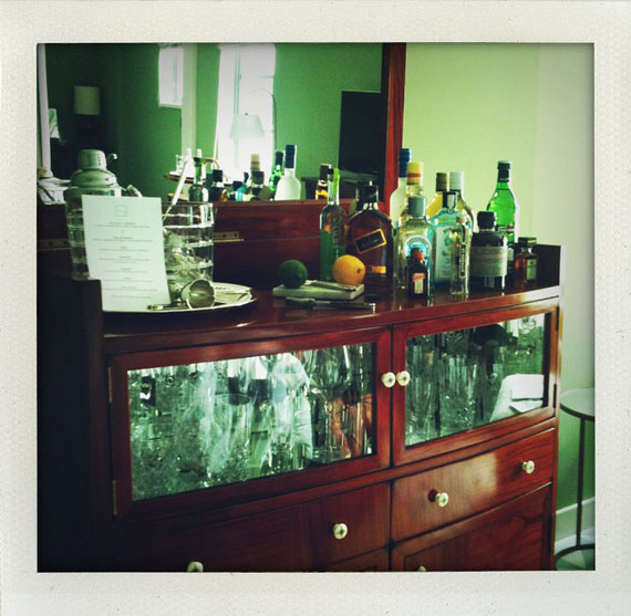 My kinda mini bar soho beach house wonnacott drinks - Mini bar in house ...